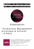 Présentation Management Artistique & Culturel